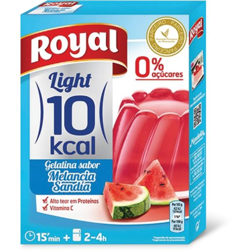 ROYAL Gelatina de Melancia Light 10Kcal 31 g